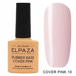 Elpaza Rubber Base Cover Pink 10, 10 мл.
