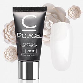 Polygel cosmolac 30ml clear