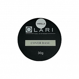 Olari  Cover Base, Vanilla, 30г