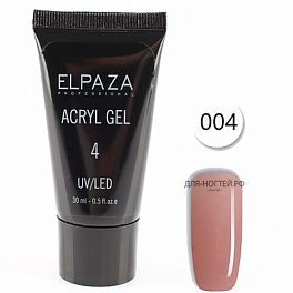 Acryl gel Elpaza №4, 30 ml